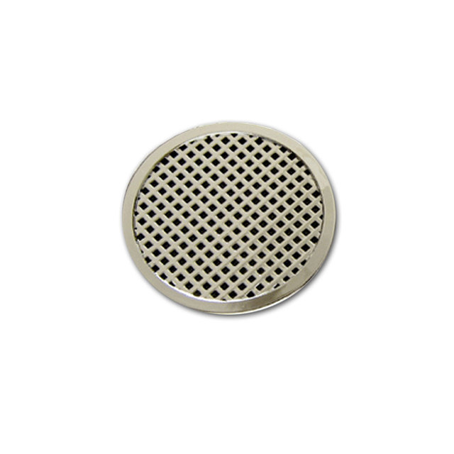 Round Humidifier - Silver - up to 25 cigars capacity