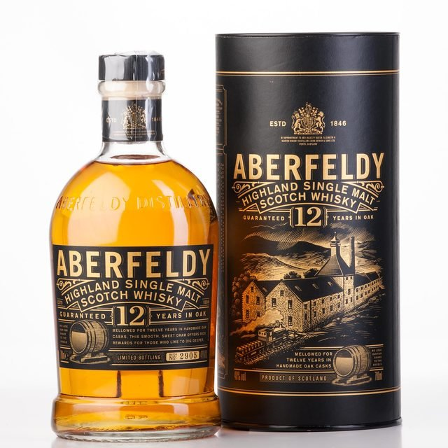Aberfeldy 12 Year Old Single Malt Scotch Whisky  70cl 40%