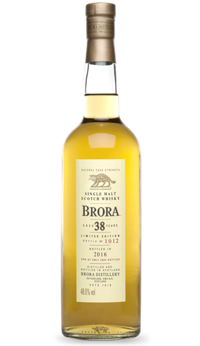 Brora 38 Year Old, Diageo 2016 Special Release 70cl,