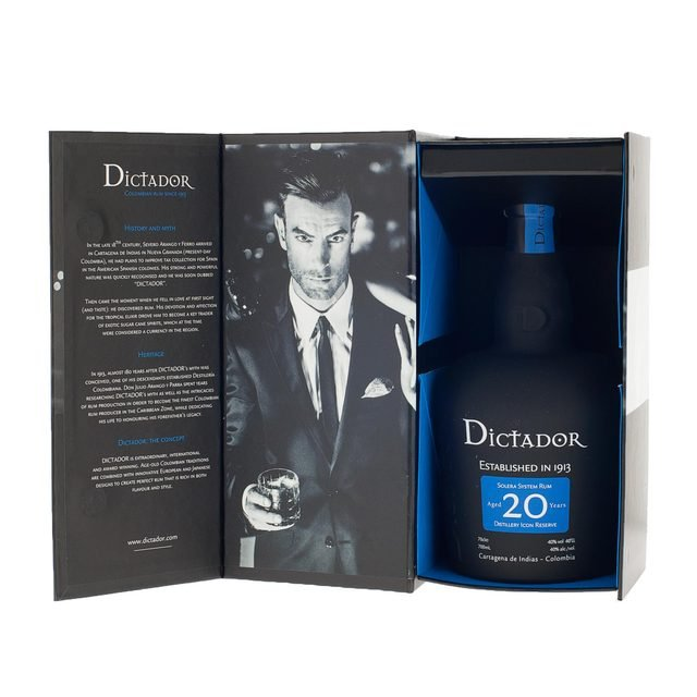 Dictador 20 Year Old Solera System Rum