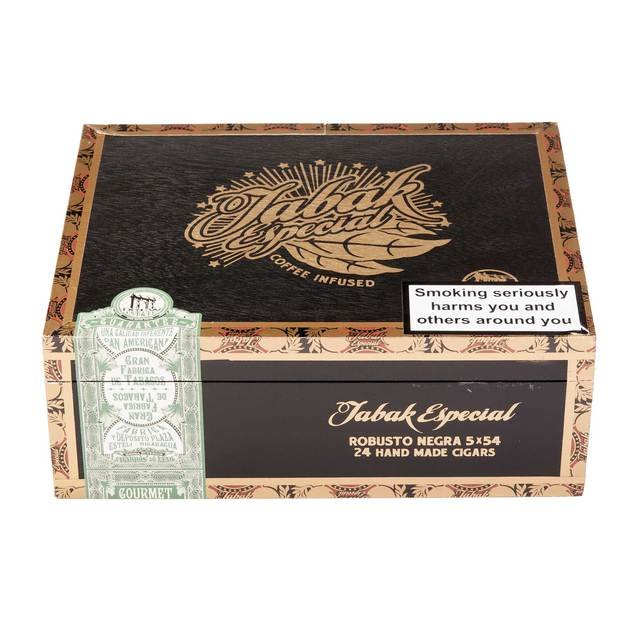 Tabak Especial Robusto Negra - Box of 24