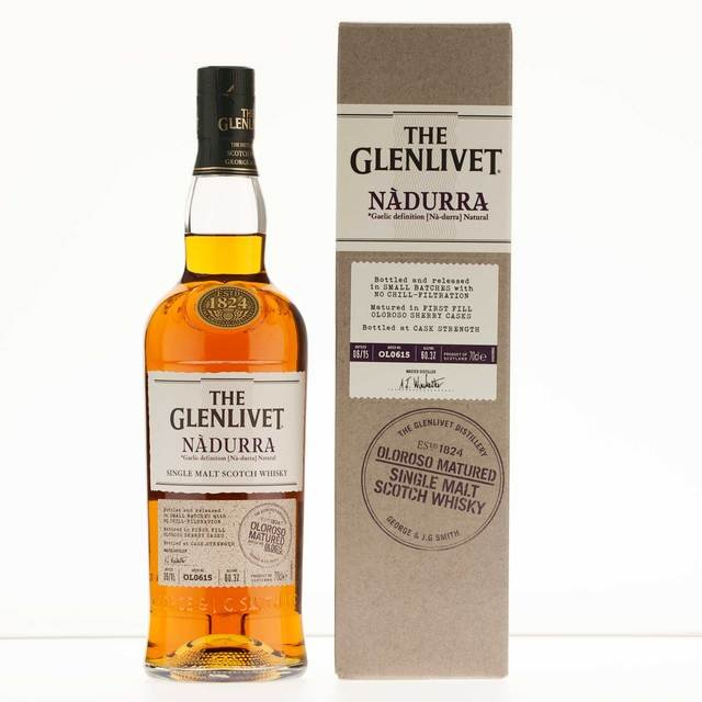 The Glenlivet Single Malt Scotch Whisky Nadurra Oloroso 61.3% Vol 70Cl