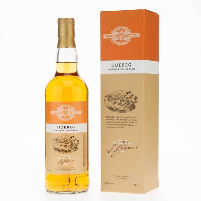 Robert Graham's Hoebeg Islay Single Malt Scotch Whisky 40% 70cl