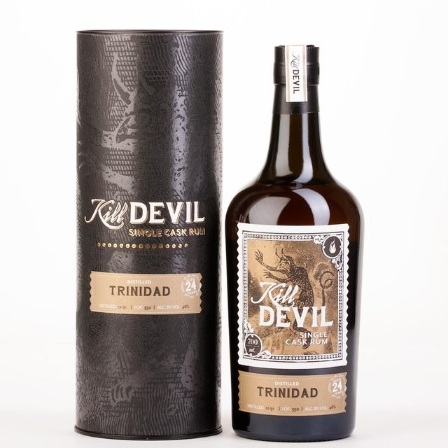 Kill Devil 24 Year Old Trinidad Single Cask Rum
