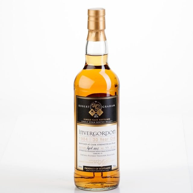 Treasurer's Selection Invergordon 1984 30 year old 64.1% 70cl