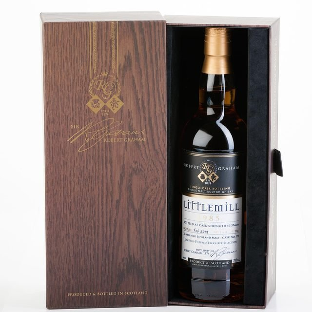Treasurer's Selection Littlemill 1985, 28 Year Old Single Malt Scotch Whisky (70cl 50.5%)