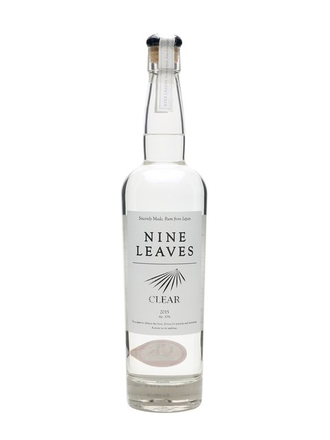 Nine Leave's Clear 2015 Rum