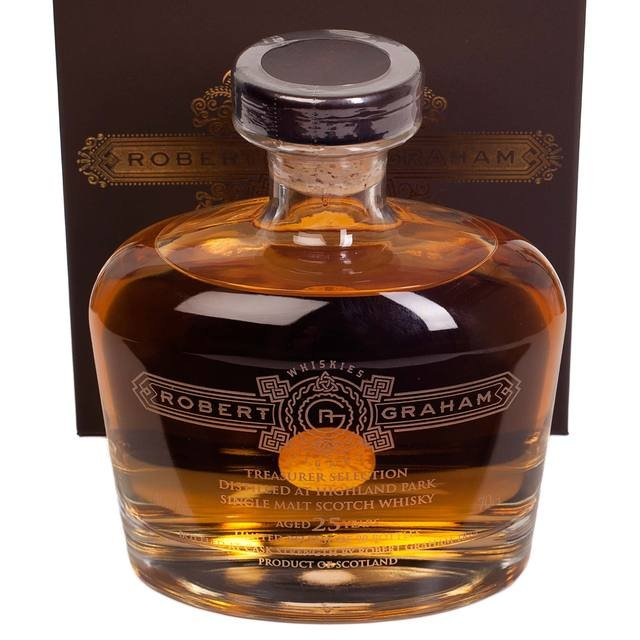 Robert Graham Treasurer's Selection Highland Park 25 Year Old Single Malt Scotch Whisky