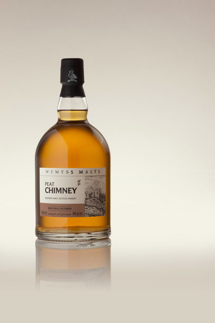 Peat Chimney Blended Malt Whisky 46 70cl Wemyss Malts