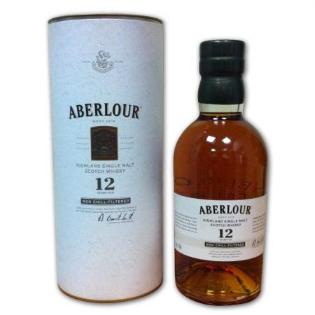 Aberlour 12 years old Speyside Single Malt Scotch Whisky (70cl 43%)
