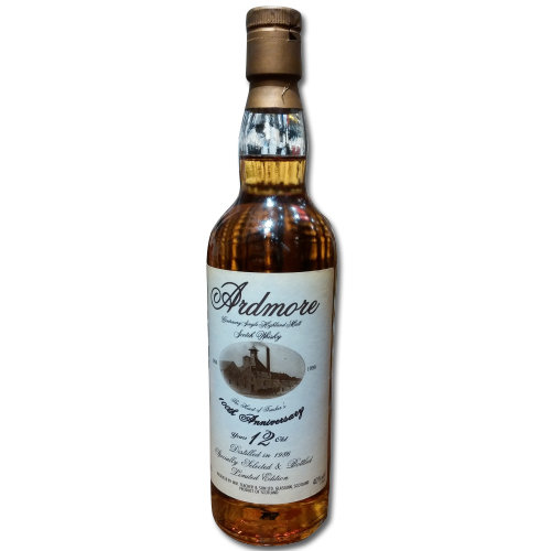 Ardmore 12 Year Old Single Malt Scotch Whisky  - 100th Anniversary 70cl 40%