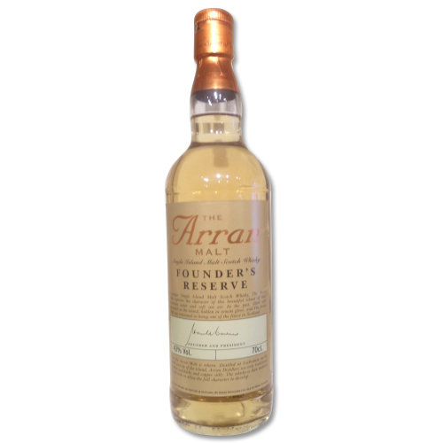 Arran Founder's Reserve Single Malt Scotch Whisky 70cl 43%