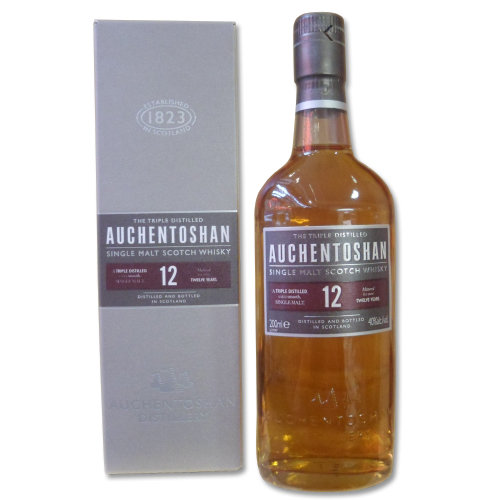Auchentoshan - 12 Year Old Single Malt (20cl, 40% ABV)