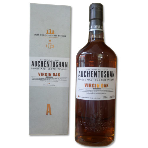 Auchentoshan Virgin Oak Single Malt Scotch Whisky 70cl 46%