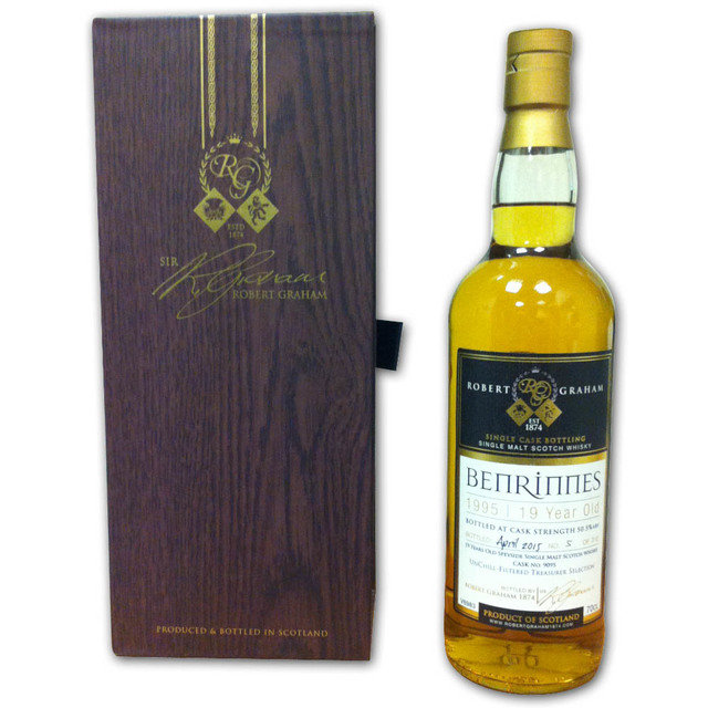 Treasurer's Selection Benrinnes 1995, 19 Year Old Single Malt Scotch Whisky  (70cl 50.5%)