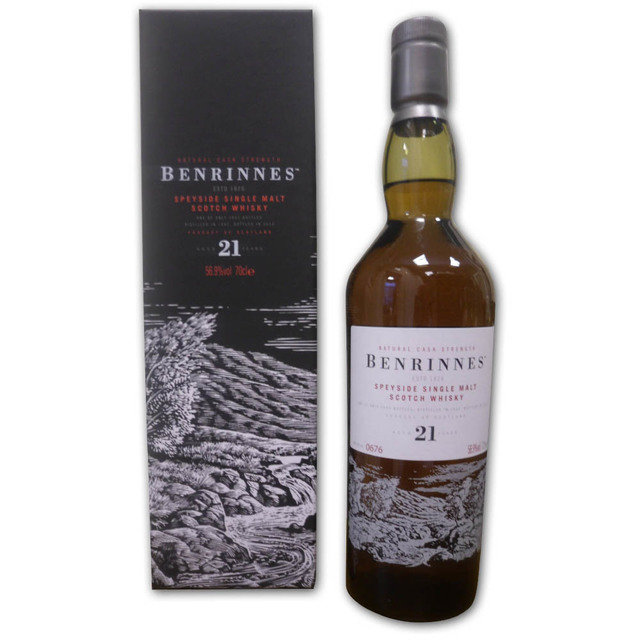 Benrinnes - 21 Year Old 1992 Official Bottling (70cl, 56.9% ABV)