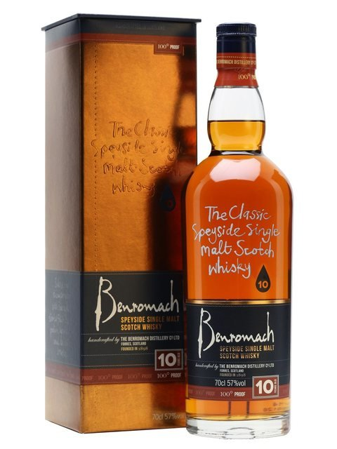 Benromach Single Malt Scotch Whisky 100 Proof (10 Year Old) 57% Vol 70Cl