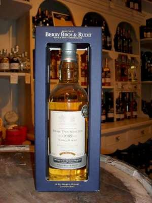 Bowmore 1989 Berry's Own Selection Single Malt Scotch Whisky 70cl 50.9%
