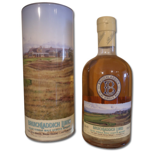 Bruichladdich Links -  Royal Troon 14 Year Old  Single Malt Scotch Whisky  70cl 46%