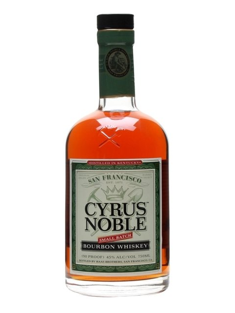 Cyrus Noble Bourbon Whiskey (45% 70cl)