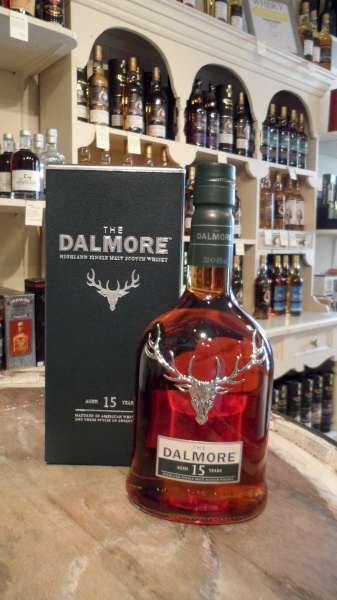 Dalmore 15 Year Old Single Malt Scotch Whisky (70cl 40%)