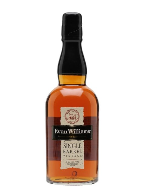 Evan William's Single Barrel 2004 (43.3% 70cl)