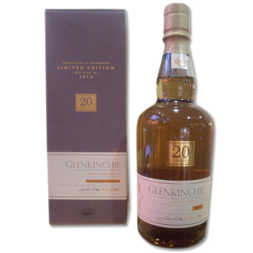 Glenkinchie 20 Year Old - Bottled 2010 Single Malt Scotch Whisky 70cl 55.1%