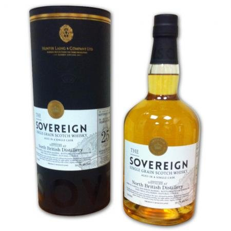 The Sovereign North British 25 Year Old Grain Whisky 59.7% 70cl