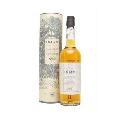 Oban 14 Year Old Single Malt Scotch Whisky (70cl 43%)