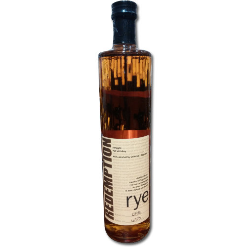 Redemption Rye Straight American Rye Whiskey 46% 75cl