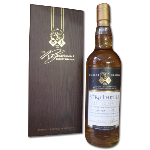 Robert Graham Treasurer's Selection Strathmill 1991 22 Years Old 60.4% 70cl
