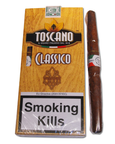 Toscano Classico Cigar - Pack of 5