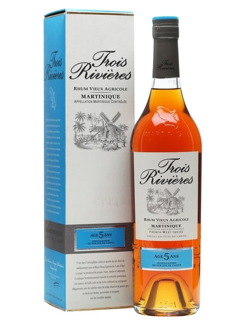 Trois Rivieres 5 Year Old Rum (40% 70cl)