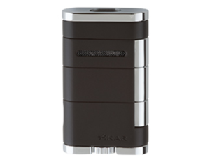 Xikar Allume Double Jet Lighter - Black