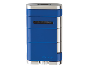 Xikar Allume Double Jet Lighter - Blue