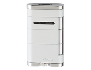 Xikar Allume Double Jet Lighter - Pearl
