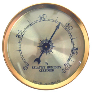 Analogue Hygrometer - 2 1/4 inch