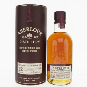 Aberlour 12 Years Old Double Cask Single Malt Scotch Whisky - 70cl, 40%
