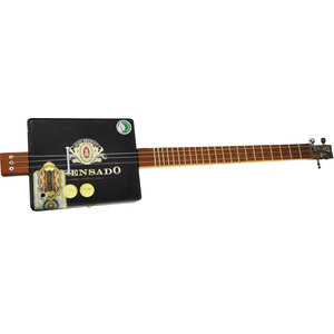 Alec Bradley Prensado Cigar Box 3-String Diddley Bow Guitar
