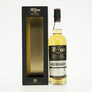 Arran 7 Year Old for Indie Brands Single Malt Scotch Whisky - 70cl, 57.5% vol.