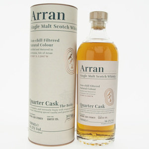 "Arran Quarter Cask ""The Bothy"" Single Malt Scotch Whisky - 70cl, 56.2%"
