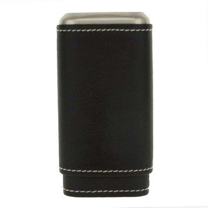 Artamis Black Three Finger Cigar Case (CAS55)