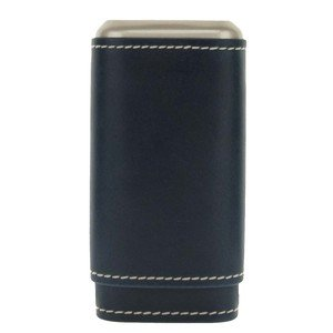 Artamis Navy Blue Three Finger Cigar Case (CAS54)
