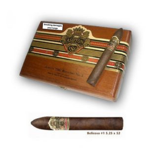 Ashton VSG Belicoso Cigars - Box of 24