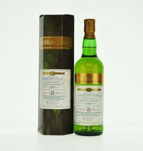Auchentoshan 1997 Old Malt Cask 21 Year Old  Hunter Laing Single Malt Scotch Whisky - 70cl, 50%