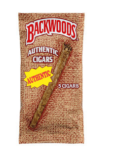 Backwoods Authentic (Sweet Aromatic) - 5 Pack