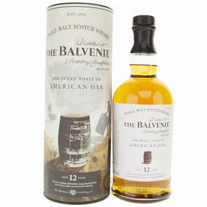 Balvenie 12 Year Old American Oak Single Malt Scotch Whisky - 70cl, 43% vol.