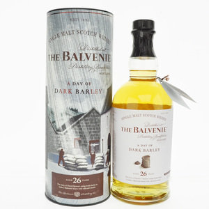 Balvenie A Day of Dark Barley 26 Year Old Single Malt Scotch Whisky - 70cl, 47.8% vol.