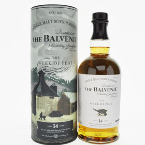 Balvenie The Week of Peat 14 Year Old Single Malt Scotch Whisky - 70cl, 48.3% vol.
