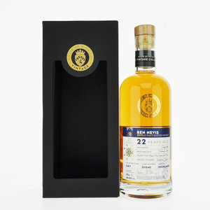 Ben Nevis 22 Year Old House of McCallum Vintage Single Malt Scotch Whisky - 70cl, 46.5% vol.